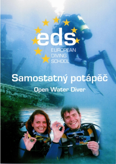 Kniha OPEN WATER DIVER Czech